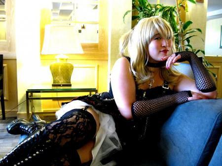 Amane Misa from Death Note worn by Blueshadow