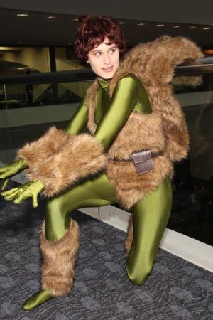 Squirrel Girl from Marvel Comics worn by Rabid Potato