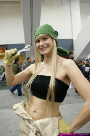 Winry Rockbell from Fullmetal Alchemist 