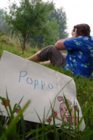 Poppo (Tetsud� Hisakawa) from Anohana: The Flower We Saw That Day