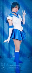 Sailor Mercury from Sailor Moon by Ammie