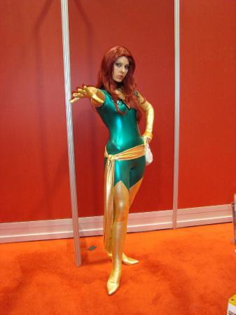 Phoenix from X-Men worn by Ammie