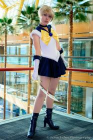 Sailor Uranus from Sailor Moon worn by Ammie