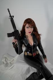 Black Widow from Marvel Comics worn by Ammie