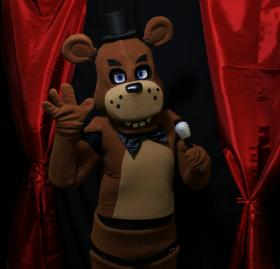 Freddy Fazbear from Five Nights at Freddy's worn by Ammie