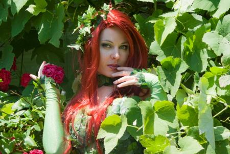 Poison Ivy from Batman worn by Ammie