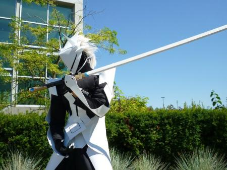 Hakumen from BlazBlue: Calamity Trigger