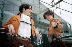 Eren Yeager from Attack on Titan by jackoftrades