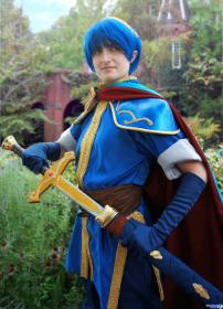 Marth from Fire Emblem: Shadow Dragon by jackoftrades