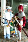 Adol Christin from Ys worn by jackoftrades