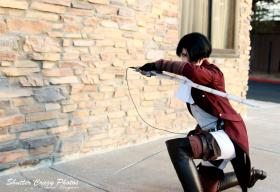 Levi from Attack on Titan by Shikarius