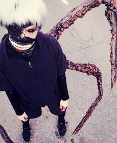 Kaneki Ken from Tokyo Ghoul
