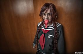 Touko Fukawa from Dangan Ronpa  by Gazirra