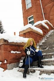 Olivier Milla Armstrong from FullMetal Alchemist: Brotherhood worn by venusgal100