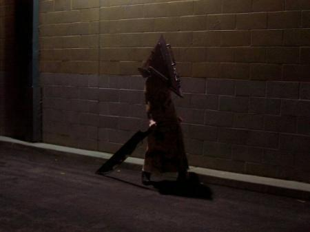 Pyramid Head from Silent Hill 2 worn by Katsumiyo