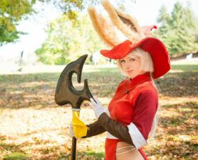 Viera Red Mage from Final Fantasy Tactics Advance worn by Katsumiyo