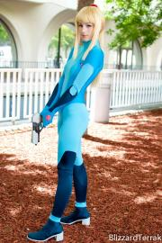 Samus Aran from Metroid: Zero Mission