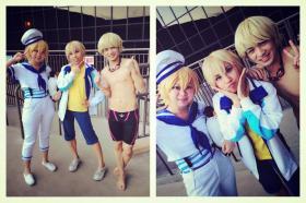 Hazuki Nagisa from Free! - Iwatobi Swim Club worn by Itsuka