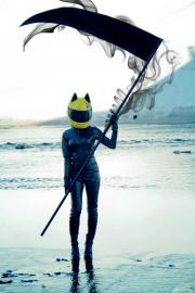 Celty Sturluson from Durarara!! worn by Itsuka
