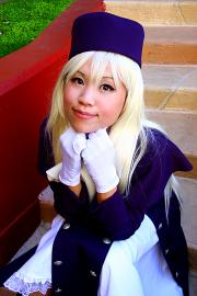 Illyasviel von Einzbern from Fate/Stay Night worn by Itsuka
