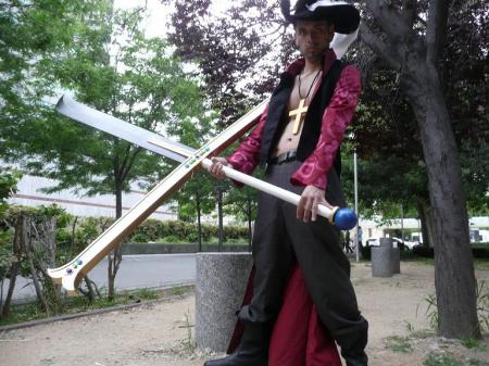 Dracule Mihawk from One Piece