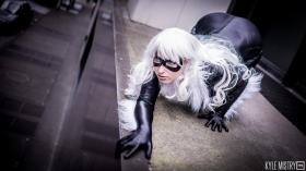 Black Cat from Spider-man worn by Jillian Lynn