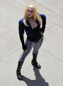 Black Canary from Young Justice worn by Jillian-Lynn