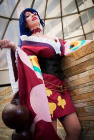 Lady Adiane the Elegant from Tengen Toppa Gurren-Lagann worn by Jillian Lynn