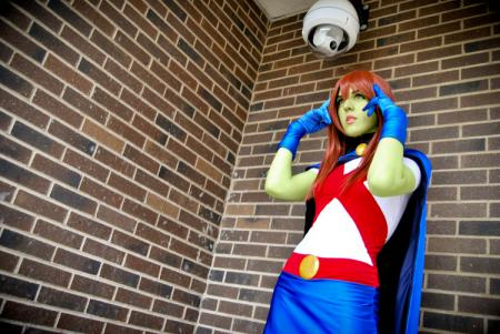 Miss Martian / M'gann M'orzz / Megan Morse from Young Justice worn by Sirene