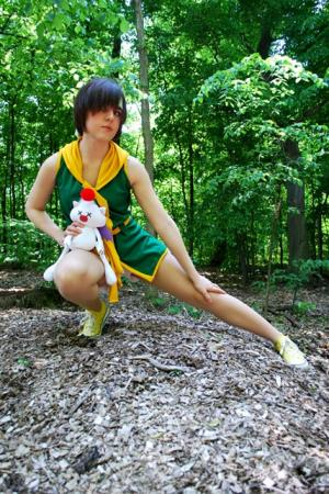 Yuffie Kisaragi from Final Fantasy VII: Crisis Core 