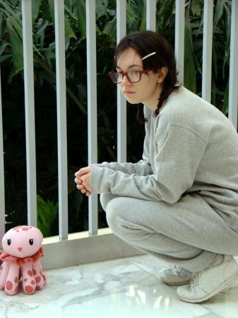 Tsukimi Kurashita from Princess Jellyfish worn by Typo