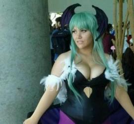 Morrigan Aensland from Darkstalkers worn by Sprocket