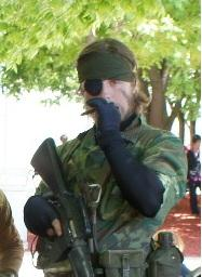 Naked Snake from Metal Gear Solid 3: Snake Eater