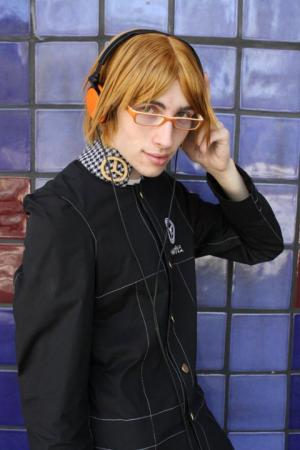 Yosuke Hanamura from Persona 4 (Worn by Kyros)