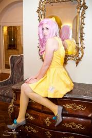 Fluttershy from My Little Pony Friendship is Magic worn by koi-ishly