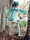 Hatsune Miku from Vocaloid 2 worn by koi-ishly