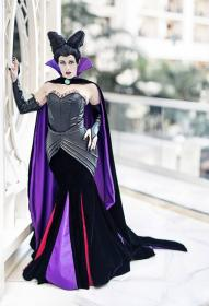 Maleficent from Sleeping Beauty worn by koi-ishly