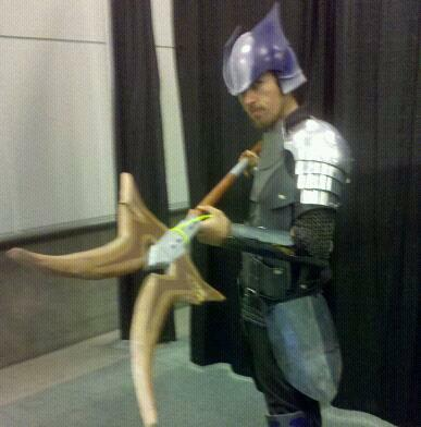 Dragoon from Final Fantasy XI worn by Leon Vanguard