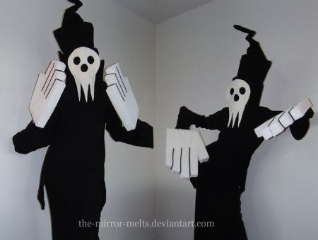 Shinigami-Sama from Soul Eater worn by Melting Mirror