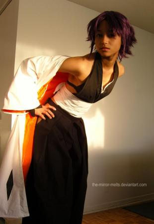 Yoruichi Shihouin from Bleach worn by Melting Mirror