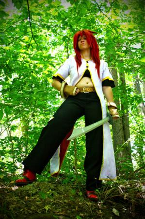 Luke fon Fabre from Tales of the Abyss worn by Rose of Battle
