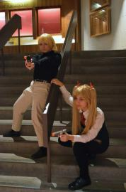Rico from Gunslinger Girl worn by Rose of Battle