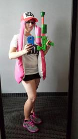 Inkling Girl from Splatoon worn by Rose of Battle