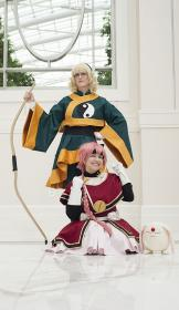 Hikaru Shidou from Magic Knight Rayearth (Worn by Rose of Battle)