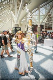 Princess Zelda from Legend of Zelda: Twilight Princess  by 16bitlaughter