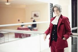 Miles Edgeworth from Phoenix Wright: Ace Attorney worn by Artie