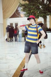 Ness from Earthbound / Mother 2 worn by Artie