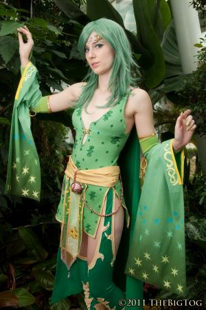 Rydia from Final Fantasy IV worn by Dessi_desu