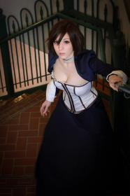 Elizabeth from Bioshock Infinite worn by electric lady
