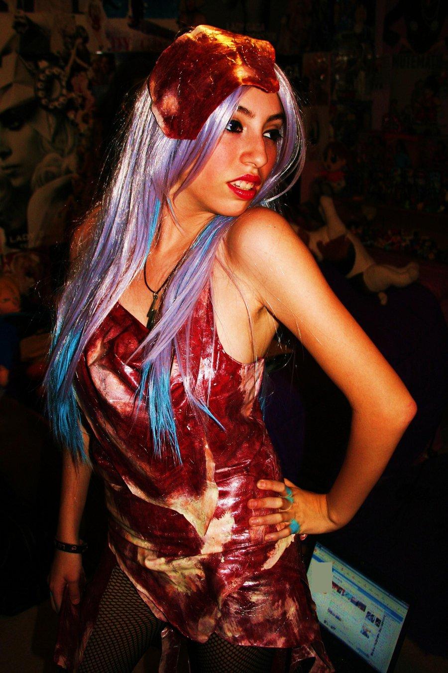 Lady Gaga Red Dress Costume
